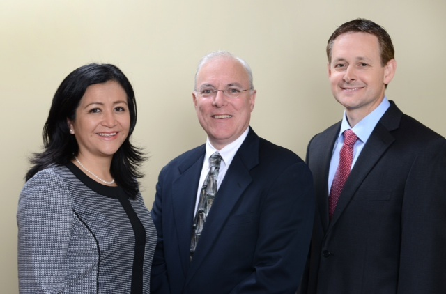 Dr. Ziegler, Dr. Mann and Dr. Martinez