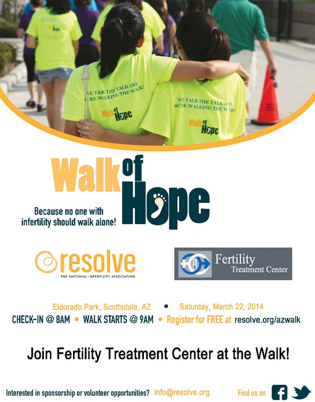 Join Fertility Treatment Center and The Walk of Hope Event