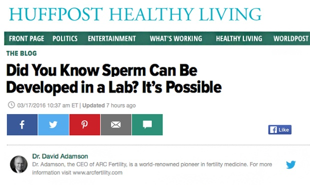 Did You Know Sperm Can Be Developed in a Lab? It's Possible