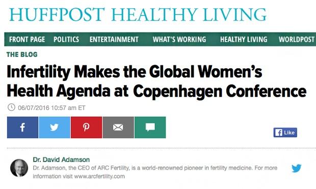 Infertility Makes the Global Women's Health Agenda at Copenhagen Conference