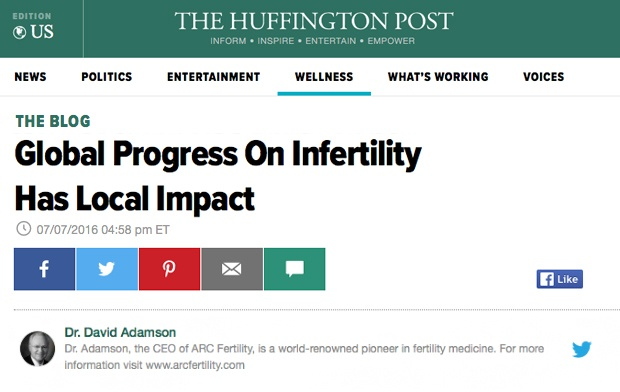 Global Progress On Infertility Has Local Impact