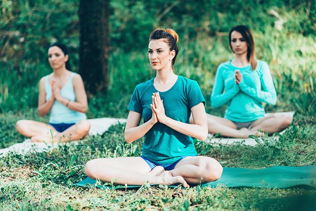 Try Deep Breathing and Relaxation: Yoga Reduces the Stress of Infertility