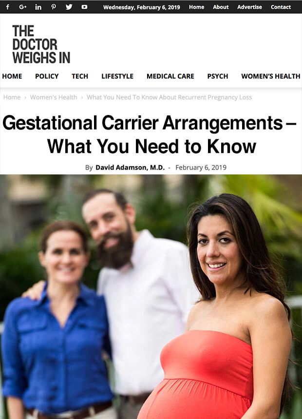 Gestational Carrier Arrangements – What You Need to Know