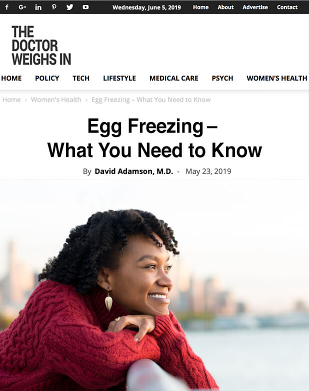 Egg Freezing – What You Need to Know