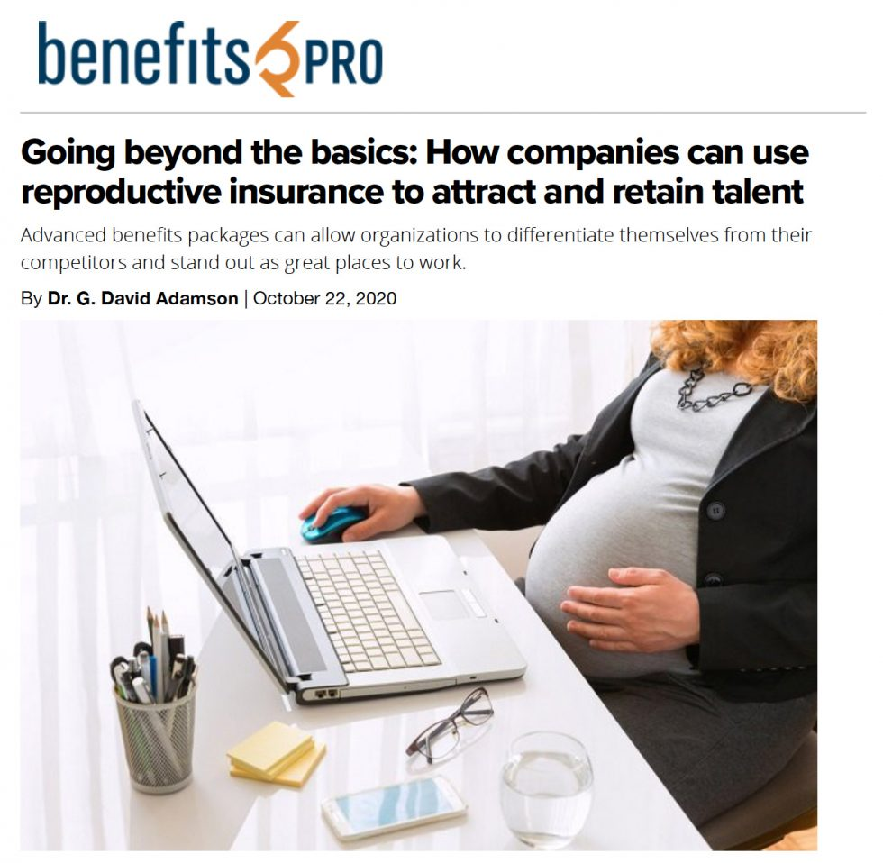 Going beyond the basics: How companies can use reproductive insurance to attract and retain talent