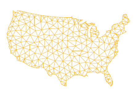 Network across the US